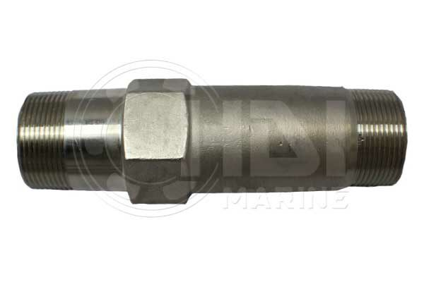 """OAL 7"""" Stainless Steel Exhaust Riser"""